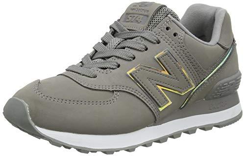 New Balance Damen 574 WL574CLE Medium Sneaker, Grey (Marblehead CLE), 43.5 EU