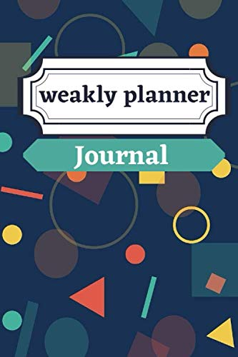 weakly planner Journal: Monthly Calendar Planner January to December