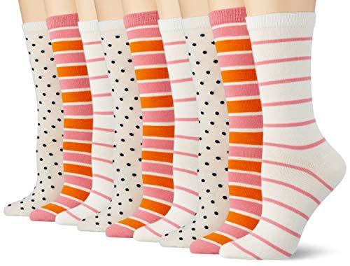 GANT Damen D2. Mixed Socks 3-Pack, SEA PINK, OneSize