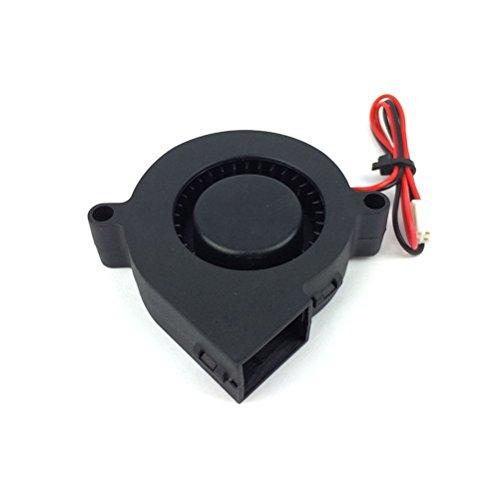 UEETEK 3D Printer Cooling Fan 24V DC for Cooling Heatsinks Black