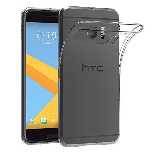 AICEK HTC 10 Hülle Case, [Ultra-Clear] HTC 10 Case Silikon Soft TPU Crystal Clear Premium Durchsichtig Handyhülle Schutzhülle Case Backcover Bumper Slimcase für HTC 10