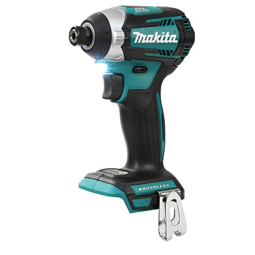 Makita DTD154Z DTD154Z-AVVITATORE AD IMPULSI 18V 175Nm BL 3 vel/senza batterie e caricabatterie, 0 W, 18 V, Blue, S
