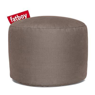 Fatboy - Pouf Point Stonewashed (100% Coton) Taupe