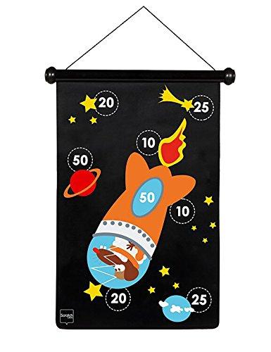 Scratch - 276182001 - Jeu de fléchettes magnétiques - Astronaute -...