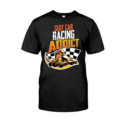 Slot Car Racing Addict T-Shirt - Front Print T-Shirt, Ladies T-Shirt, Hoodie,...