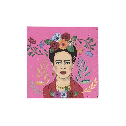 Boho Frida Cocktail Napkin 20Pk