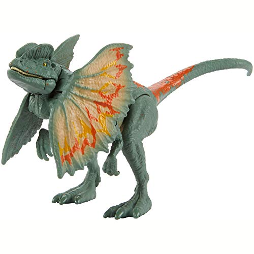 Jurassic World Toys Jurassic World Savage Strike Dinosaur Action Figures in Smaller Size with Unique Attack Moves Like Biting, Head Ramming, Wing Flapping, Articulation and More, Multi (GNJ21)