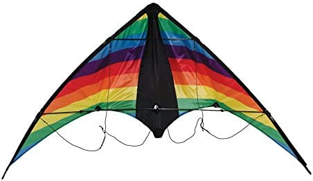 In the Breeze Colorwave 48 Inch Stunt Kite - Dual Line Sport Kite - Includes Kite Line and Bag