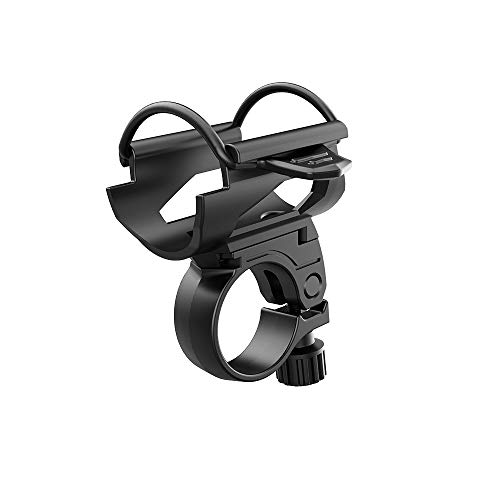 Heisens Universal Bicycle Flashlight Mount Bracket 45 Degree Adjustable Bike Torch Clip Clamp Stand Holder