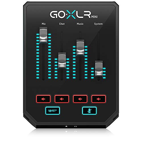 Music Tribe -  GoXlr Mini - Mixer &