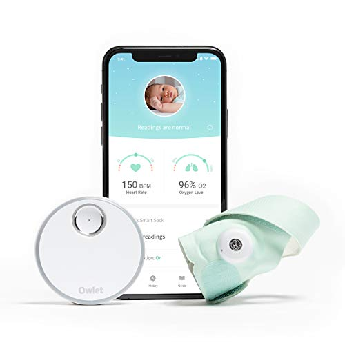 Owlet New Smart Sock 3 Baby Monitor with Oxygen & Heart Rate