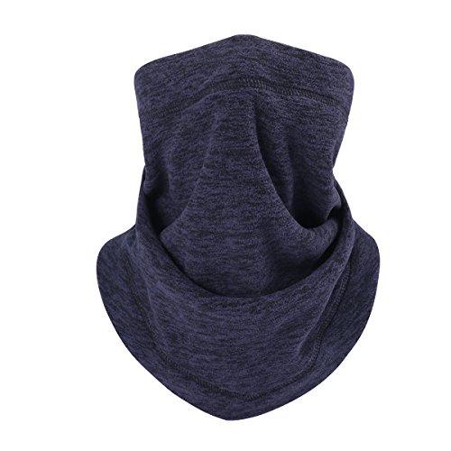 Neck Gaiter Face Bandana - Neck Warmer & Neck Cover & Face Scarf Windproof Half Balaclava Ski Mask