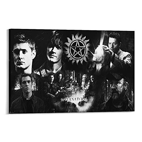 LIUSHUANG - Poster da parete con immagine soprannaturale, serie TV drammatica, decorazione per soggiorno, casa, senza cornice, 50 x 75 cm