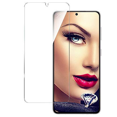 mtb more energy® Schutzglas kompatibel mit Samsung Galaxy S21 5G (SM-G991, 6.2'') - 9H - Kratzfest - Tempered Glass Bildschirm Schutzfolie Glasfolie