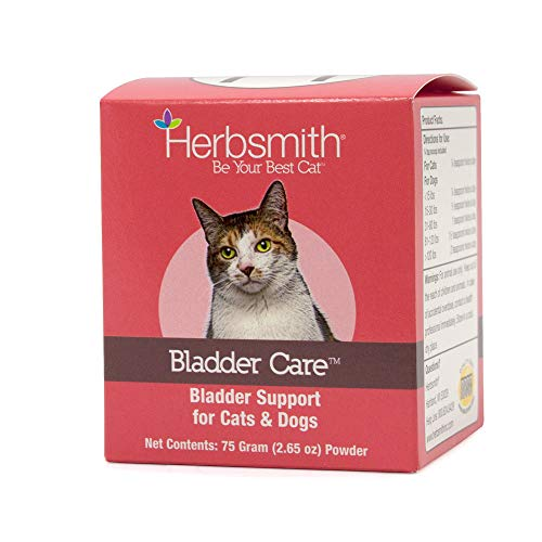 Herbsmith Bladder Care- Bladder Support for Cats- Urinary Tract Cat Supplement – Maintains Kidney Health for Cats– 75g