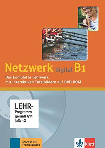 Netzwerk digital B1: Deutsch als Fremdsprache. Lehrwerk digital mit interaktiven Tafelbildern, DVD-ROM (Netzwerk: Deutsch als Fremdsprache)