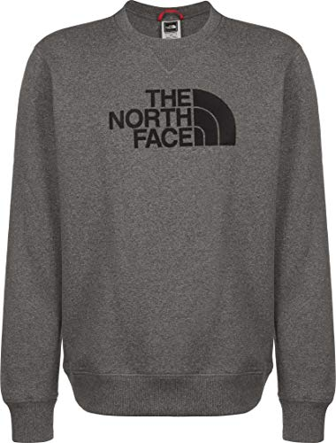 The North Face Felpa GIROC Uomo Grigio NF0A4SVR Grigio M