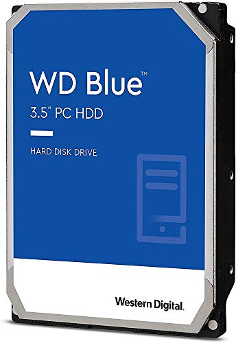 Western Digital 1TB WD Blue PC Hard Drive HDD - 7200 RPM, SATA 6 Gb/s, 64 MB Cache, 3.5' - WD10EZEX