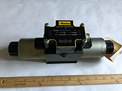New Parker D3w4cnjcf56 Hydraulic Directional Control Valve 24 Vdc,boxci from Made in usa