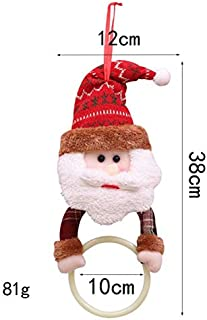 Hanging Tissue Holder Best Quality, Christmas Towel Tissue Round Holder Xmas Cute Santa Claus Elk Snowman - Snowman Dispenser, Smiley Face Towel, Dog Towel Holder, Toliet Covers