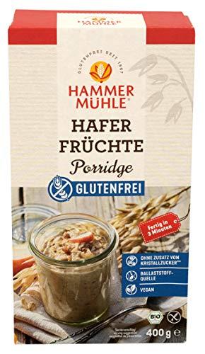 Hammermühle Hafer Früchte Porridge bio glutenfrei 400g