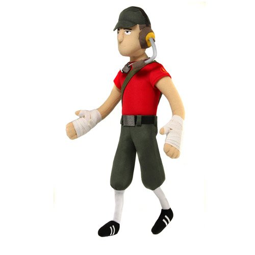 Team Fortress peluche Scout to Neca Valve Team Fortress - Scout - Plush 13'
