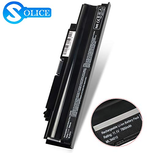 New N7110 N4110 N5110 Laptop Battery Compatible with Dell Inspiron 17R 5357 13R 14R 15R 3420 3520 N3010 N4010 N5010,fit P/N: 4T7JN 04YRJH 07XFJJ 312-0233 [11.1V 7800mAh]-12 Months Warranty