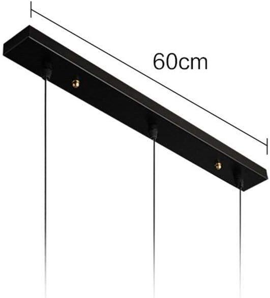 MZStech moderne à bois à Suspension 3 Lampes Macaron Suspension 3 Luminaires Lustre (Ensemble trois bandes) Ensemble Trois Bandes