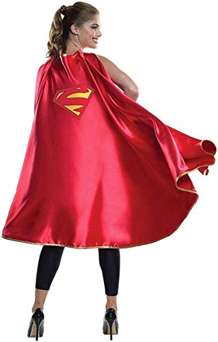 Rubie's Women's DC Superheroes Deluxe Supergirl Cape, Multi, One Size
