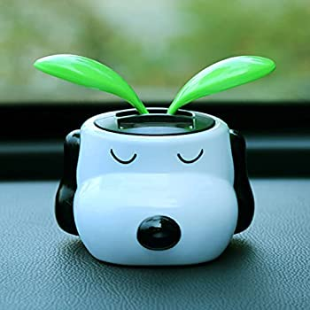 GHMPNLG Dancing Flowers Swing Flower Bobble Dancer Toy ABS Plastic Solar Panel for Office Desk Window and Car Dashboard