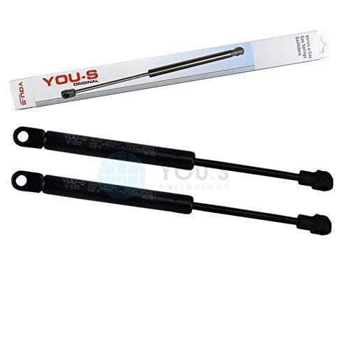2 x YOU-S Original Gasfedern für Heckklappe 242 mm 325 N - 1299800664