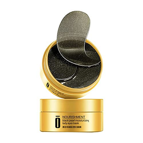 XeinGanpre - Mascarilla para ojos (10 ml, para eliminar ojeras, gel de colágeno de cristal, antiarrugas, antiojeras, bolsas y arrugas (A)