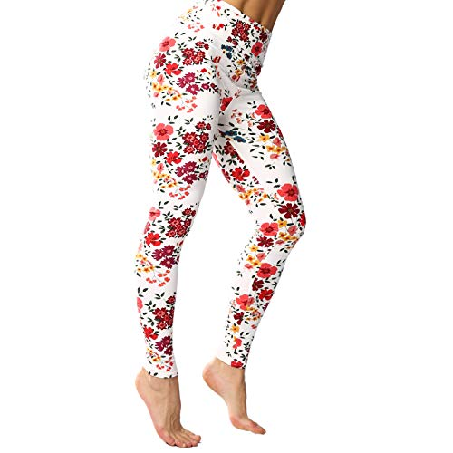 Svogue Vaner Leggings for Women Ultra Soft Yoga Pants High Waist Comfy Workout Printed Leggings -REG/Plus-80+Colors