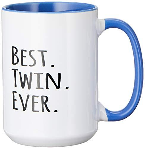 3dRose 151545_11 Mug, 15oz, Blue/White