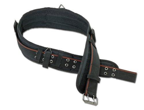 Ergodyne Arsenal 5550 Foam Padded Adjustable Tool/ Work Belt, 2X-Large, Black