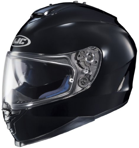 HJC IS-17 Chin Curtain Mouthpiece Street Motorcycle Helmet Accessories - Black/One Size