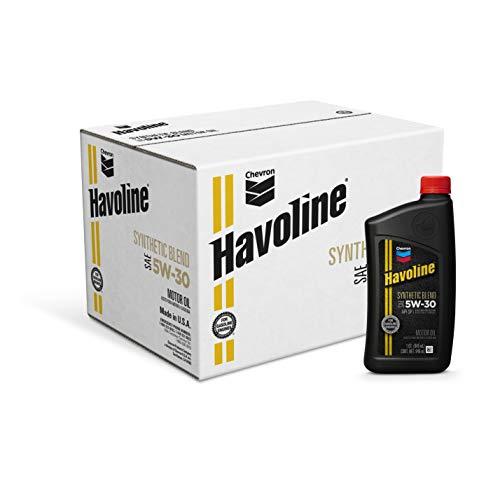 Chevron Havoline, 224102482, Aceite Para Motor De Auto, 5W30 Gf5, Color Negro, 0.946 L (1 Qt), 1 Pieza/1 Piece