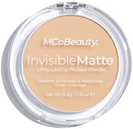 MCo Beauty MODELCO INVISIBLE MATTE PRESSED POWDER Nat Beige,