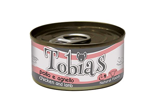 Croci Tobias hondenvoer kip en lam, verpakking van 24 (24 x 85 g)