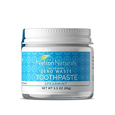 Nelson Naturals Spearmint Fluoride Free Toothpaste 2 oz