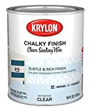 Krylon K04217000-13 Chalky Finish, Quart, Clear