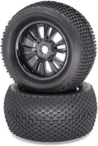 Juguetes regalo de cumpleaños para niños 1/8 neumático 140mm universal RC rueda de coche y neumático Off-road coche neumático piezas de coche JXNB