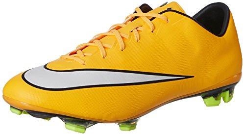 Nike Herren Mercurial Veloce II FG Fußballschuhe, Gelb (Laser Orange/White-Black-Volt), 41 EU