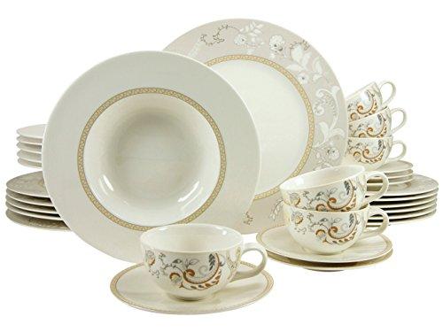 Vajillas Porcelana Inglesa 12 Servicios vajillas porcelana  Marca Creatable