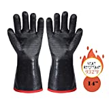 ARCLIBER BBQ Gloves-Kitchen Oven Mitts,Outdoor Barbecue Grill Baking Gloves - Fire and Food