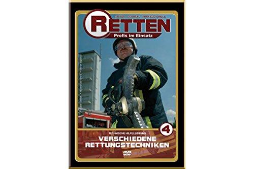 RETTEN Technische-Hilfeleistung Teil 4: Verschiedene Rettungstechniken, Ausbildungs-DVD für die Feuerwehr