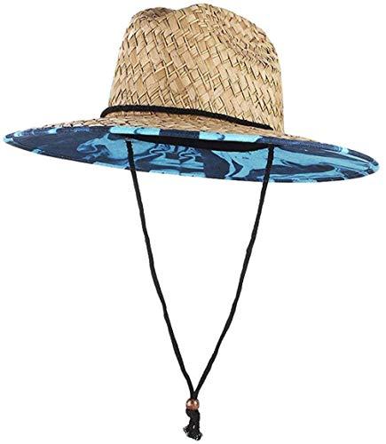 giyiohok UPF 50+ Chapeau de Soleil en Paille pour...