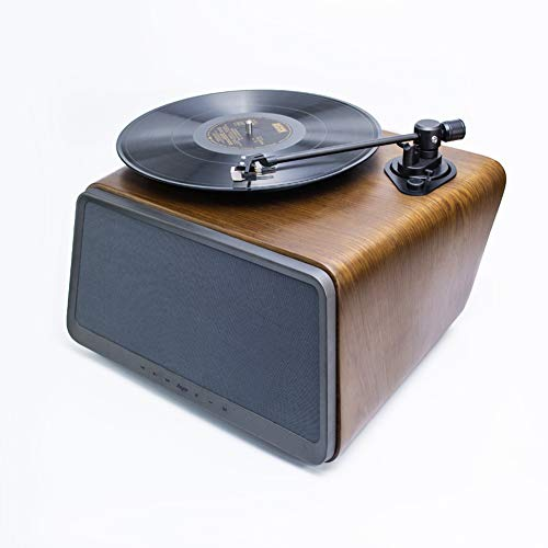 Why Should You Buy LVSSY Record Player,Vinyl Record Player Bluetooth Audio Vinyl LP Record Player Ph...