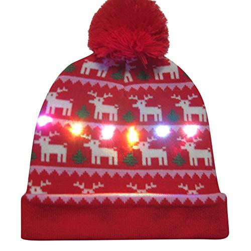 Sylar Sombreros Fiesta Navidad, Sombreros De Punto De...