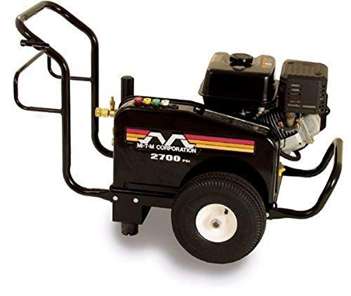 Mi-T-M JCW-2703-0MHB JCW Series Cold Water Belt Drive, 196cc Honda OHV Gasoline Engine, 2700 PSI Pressure Washer